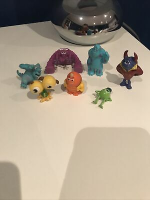 Bundle Disney Figures Cake Topper Monsters Inc University MINI Sully George • 4.95£