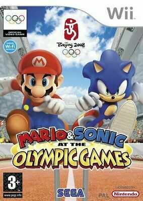 Mario & Sonic At The Olympic Games Nintendo Wii PAL COMPLETE • 9.99£