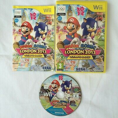 Mario & Sonic At The London 2012 Olympic Games Nintendo Wii PAL COMPLETE • 9.99£