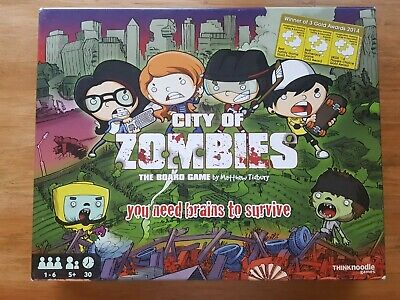 VGC COMPLETE City Of Zombies Board Game • 25.85£