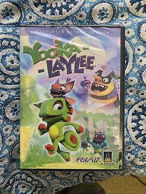 AU59.95 • Buy 1 X Yooka-Laylee KICKSTATER PC Game