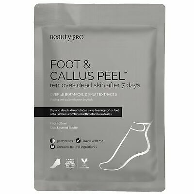 £7.95 • Buy BeautyPro FOOT & CALLUS PEEL  With Over 16 Botanical & Fruit Extracts