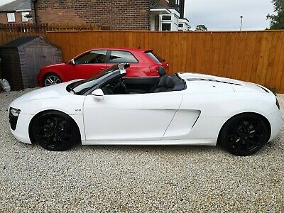 2010 Audi R8 5.2 V10 Spyder Manual On Top Gear 45k Miles May Px • 46,499£