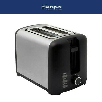 AU49.95 • Buy Stainless Steel 2 Slice Toaster Extra Wide Slot High Lift Reheat Defrost Cancel