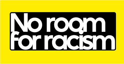 No Room For Racism Sleeve Patch For 2020-21 Football Shirt Premier League M L XL • 4.50£