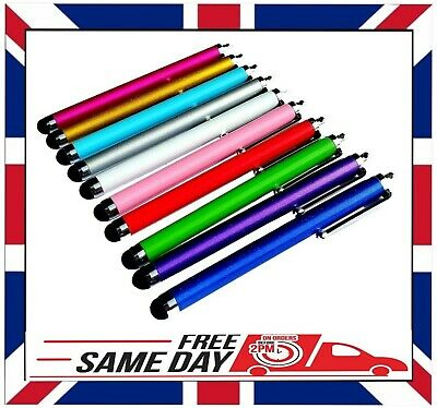 £4.68 • Buy 10 X QUALITY STYLUS PENS For TOUCH SCREEN IPAD SAMSUNG TABLET IPHONE HUAWEI ETC.