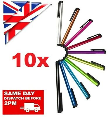 £4.46 • Buy 10 X STYLUS PENS For TOUCH SCREEN TABLET MOBILE SAMSUNG IPHONE IPAD HUAWEI Etc.