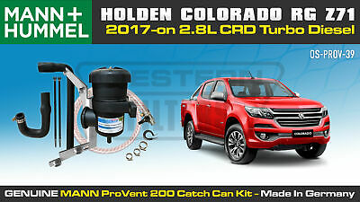 AU370 • Buy Provent Catch Can Kit For Holden Colorado Trailblazer 2.8L Z71 2017-on Duramax