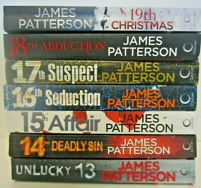 AU50 • Buy JAMES PATTERSON WOMEN'S MURDER CLUB THRILLERS  X 7