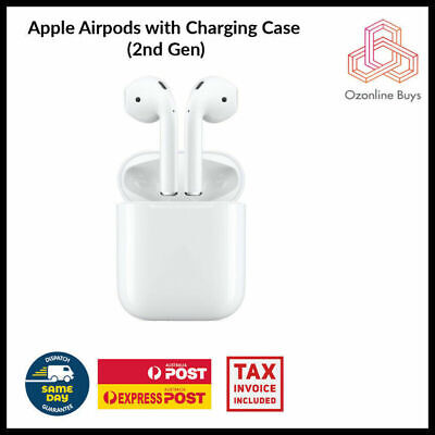 AU185 • Buy Apple AirPods With Charging Case 2nd Gen A2032