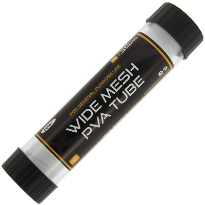 NGT Wide PVA Mesh Tube 7m X 35mm With Plunger NEW Carp Fishing  • 8.45£