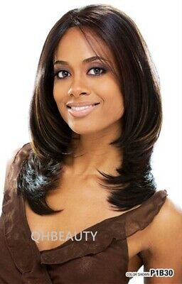 £32.80 • Buy Freetress Equal Synthetic Invisible Part Lace Front Straight Hair Wig - Mariah