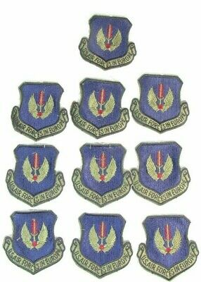 $14.99 • Buy Lot Of 10 New Military US Air Force Europe USAFE Uniform Patches Dtd 88 5C4