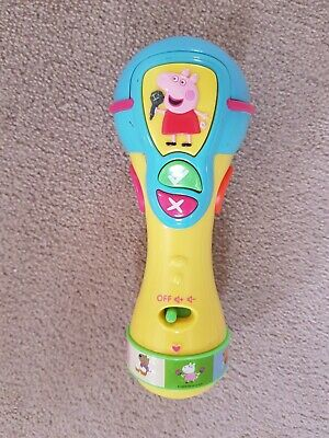 Peppa Pig Sing Along Microphone Good Condition • 4£