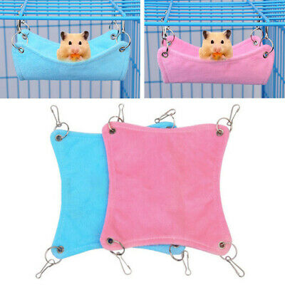 £2.99 • Buy Hamster Hanging House Hammock Sleeping Nest Bed Rat Hamster Toy Cage Accessories