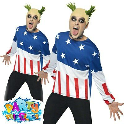 £24.99 • Buy 90s Fire Starter Costume Prodigy Keith Flint Mens Fancy Dress Party Outfit