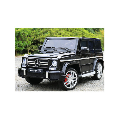 Big Size Mercedes G63 Amg 12v Licensed Electric Ride On Car Black With Parental • 169.95£