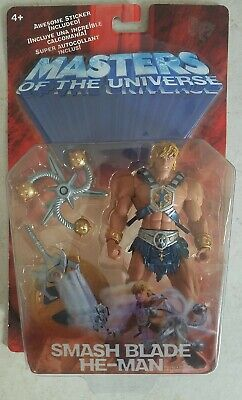 $21.99 • Buy NEW MOTU 200X MASTERS OF THE UNIVERSE SMASH BLADE HE-MAN ACTION FIGURE! A10