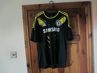 Adidas Chelsea 2012-13 12-13 2012-2013 Third Shirt (L) Large Football Jersey • 29.99£