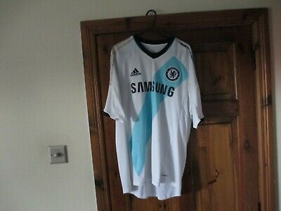 Adidas Chelsea 2012-13 12-13 2012-2013 Away Shirt (L) Large Football Jersey • 49.99£