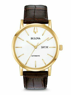$ CDN130.33 • Buy Bulova American Clipper Men's Automatic Exhibition Case Back 42mm Watch 97C107
