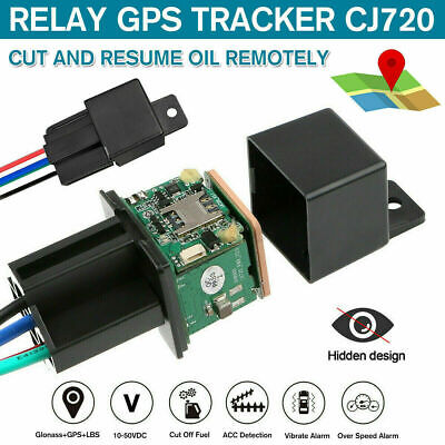 CJ720 GPS Vehicle Tracking Device Car Motorbike Truck Tracker Locator Remote • 19.99£