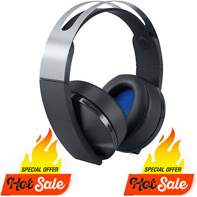 AU80.99 • Buy GENUINE SONY PS4 PLATINUM WIRELESS HEADSET[GAMING] PLATINUM HEADSET Only