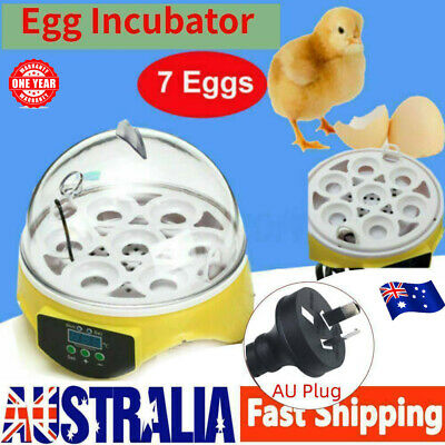 AU13.99 • Buy 7 Egg Incubator Fully Automatic Digita Turning Chicken Duck Poultry Hatcher AU