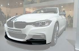 AU625 • Buy Front Bumper Splitter Matt Black *Genuine BMW* F30 M Performance 51192291364