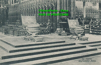 £6.80 • Buy R024066 The Thrones. Westminster Abbey. Valentine