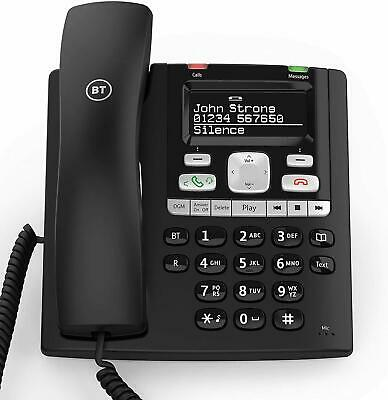 BT Paragon 650 Corded Telephone With Answermachine - 032116 • 29.99£