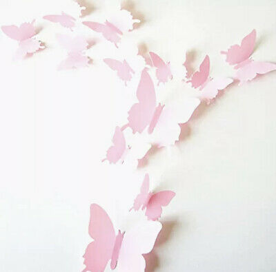 12pcs 3D Butterfly  Wall Sticker Art Decal For Home Decal • 1.99£