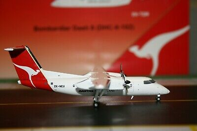 AU118 • Buy JC Wings 1:200 Qantas New Zealand Dash-8-100 ZK-NEU (XX2585) Model Plane