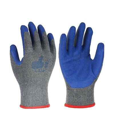 £1.99 • Buy Safety Work Gloves Heavy Duty Hand Protection Anti Cut Resistant Mechanics Build