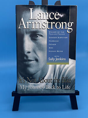 Lance Armstrong Signed 1st Edition My Journey Back To Life JSA Certified Cycli • 86.82£