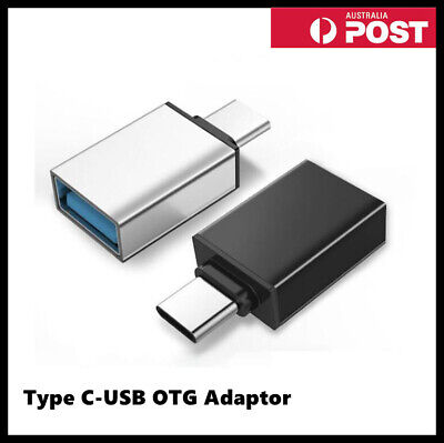 AU4.99 • Buy Fast Type C Male To USB 3.0 Premium A Female Converter USB-C Data OTG Adapter