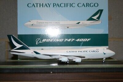 AU298 • Buy JC Wings 1:200 Cathay Pacific Cargo Boeing 747-400F B-LIA (XX2484) Model Plane
