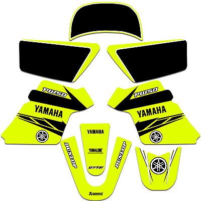 $ CDN54.42 • Buy YAMAHA PW 50 PW50 GRAPHICS KIT DECALS Fits Years 1990 - 2021 NEON YELLOW