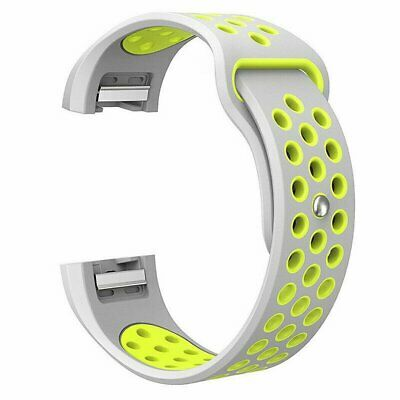 AU6.69 • Buy For Fitbit Charge 2 Bands, Soft Silicone Adjustable Replacement Sport Strap Band