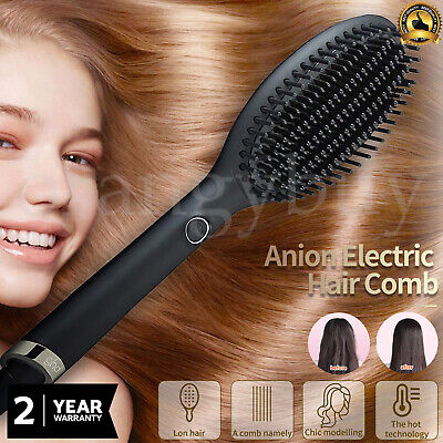 AU189.90 • Buy GHD Glide Professional Hair Straightener Hot Brush Electric Comb Heating Hair