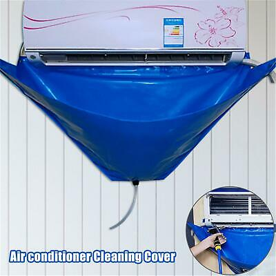 AU27.53 • Buy Air Conditioner Waterproof Cleaning Cover Dust Washing Clean Protector Bag