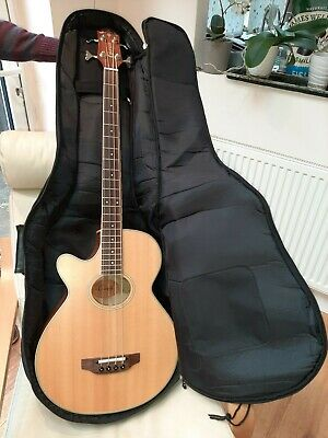 Crafter Electro-Acoustic Bass Guitar BA400-EQL P LEFT-HANDED. Gig Bag Included. • 169£