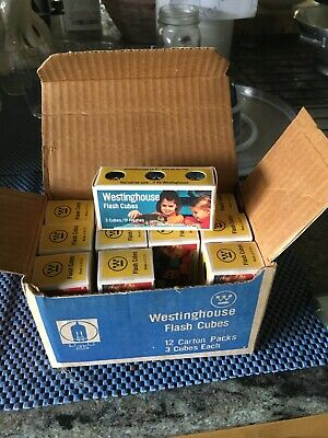 $19.50 • Buy Westinghouse Flash Cubes Classic In Box