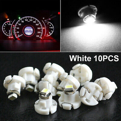 $3.11 • Buy 10pcs White T4/T4.2 Neo Wedge LED Bulb Cluster Instrument Dash Climate Lights