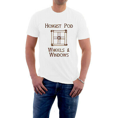 £14.50 • Buy Hengist Pod Wheels And Windows T-shirt Carry On Cleo Romans Tee From Sillytees