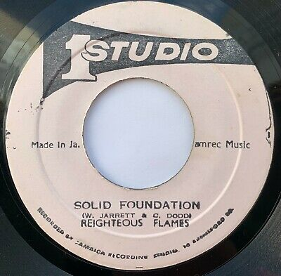 Righteous Flames - Solid Foundation / PT:2 - Studio 1 • 10.50£