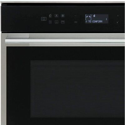Whirlpool W7MW461UK W Collection 900 Watt Microwave Built In Stainless Steel • 549£