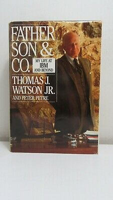 Watson & Petre: Father, Son & Co., IBM, Bantam, BOMC, With Signed Letter • 89.41£