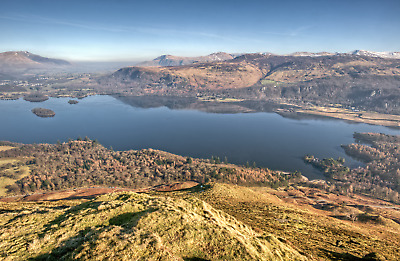 Lake District Photographic Print - The View From Catbells • 10£