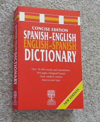 Spanish-English-Spanish Dictionary, Geddes & Grosset  • 1.50£